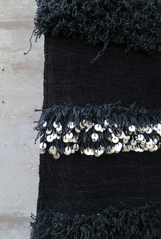 Noir Moroccan Wedding Blanket Souk And Soul
