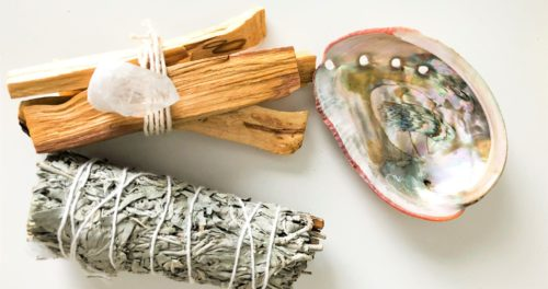 Sage + Palo Santo + Quartz +Kit